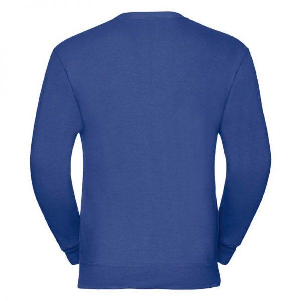 295gsm 50/50 PC Sweatshirt Cardigan - JCAA273-bright-royal-back