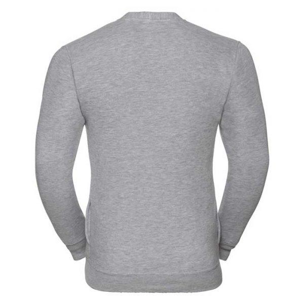 295gsm 50/50 PC Sweatshirt Cardigan - JCAA273-light-oxford-back