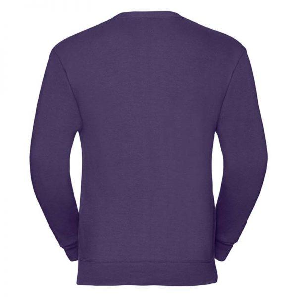 295gsm 50/50 PC Sweatshirt Cardigan - JCAA273-purple-back