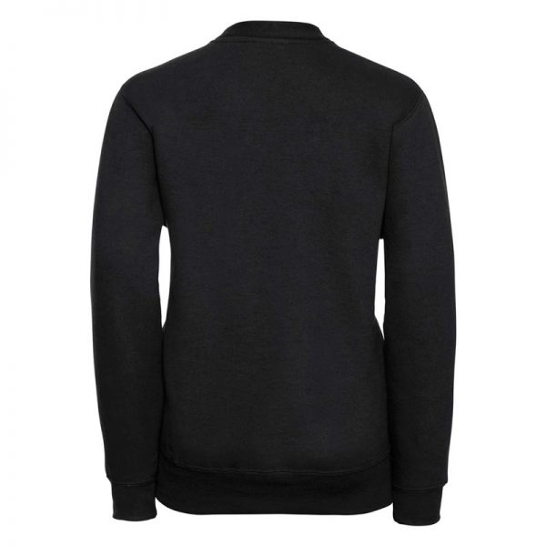 295g 50/50 PC Girls Sweatshirt Cardigan - JCK273-black-back