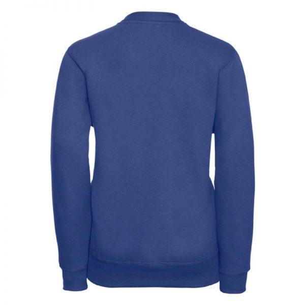 295g 50/50 PC Girls Sweatshirt Cardigan - JCK273-bright-royal-back