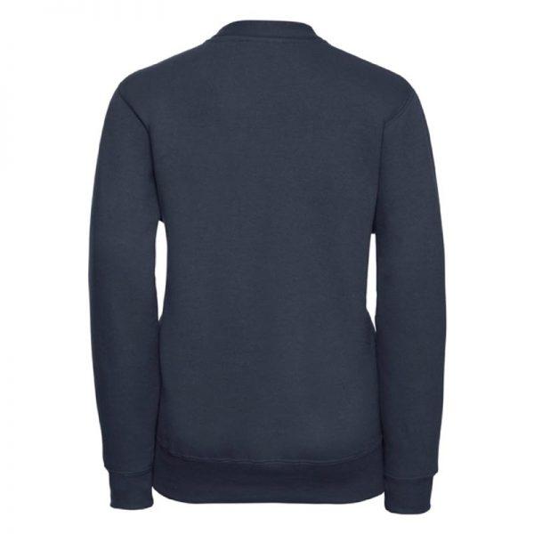 295g 50/50 PC Girls Sweatshirt Cardigan - JCK273-french-navy-back