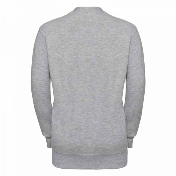295g 50/50 PC Girls Sweatshirt Cardigan - JCK273-light-oxford-back