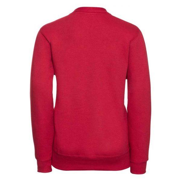 295g 50/50 PC Girls Sweatshirt Cardigan - JCK273-red-back