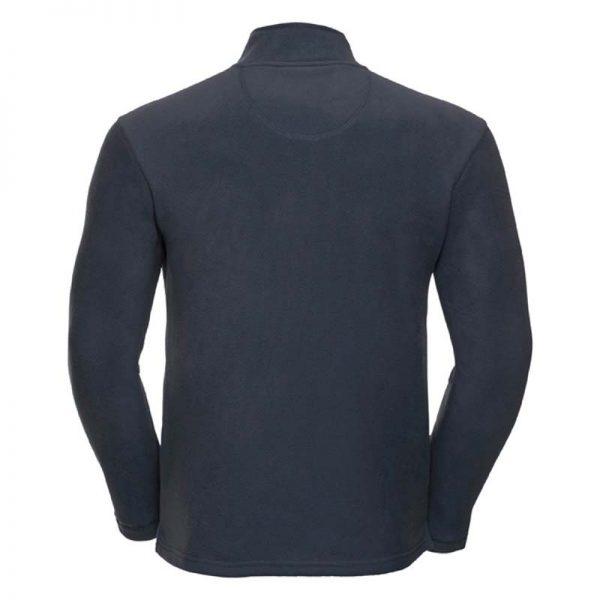 190gsm 100% Polyester Full Zip Microfleece - JMFA880-french-navy-back
