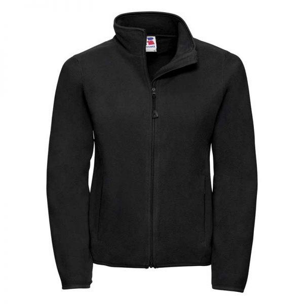 190g 100%Polyester Fitted Full Zip Ladies Microfleece - JMFL883-black