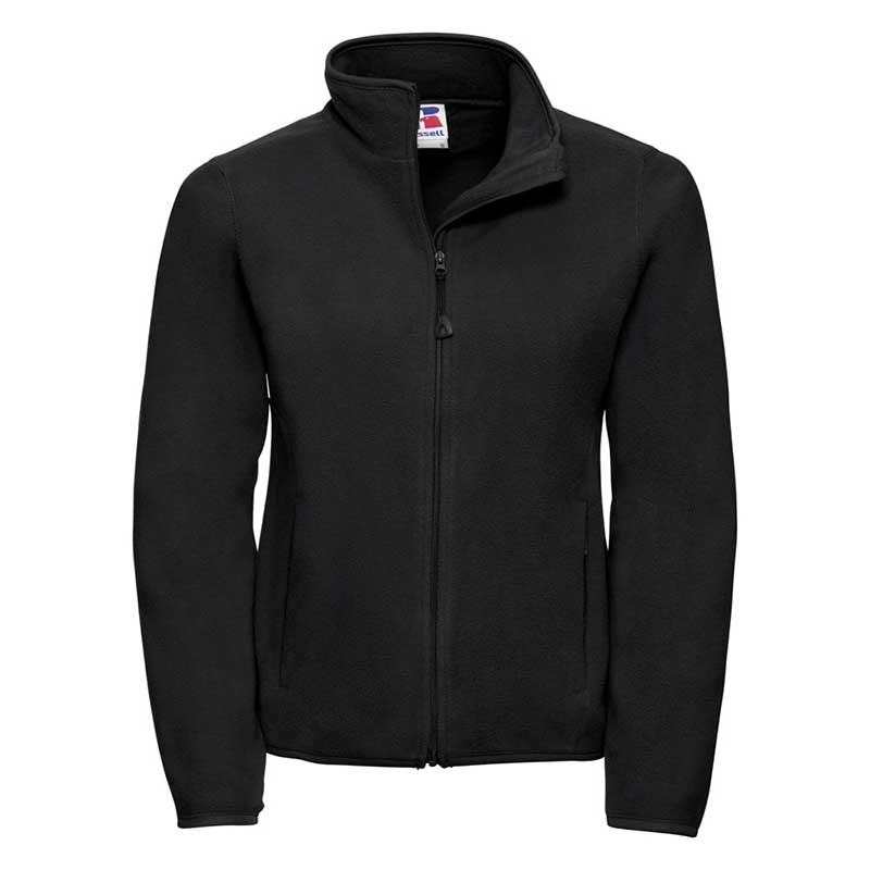 190g 100%Polyester Fitted Full Zip Ladies Microfleece - JMFL883-black