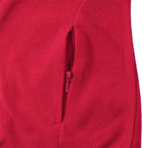 190g 100%Polyester Fitted Full Zip Ladies Microfleece - JMFL883-details