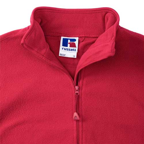 190g 100%Polyester Fitted Full Zip Ladies Microfleece - JMFL883-details2