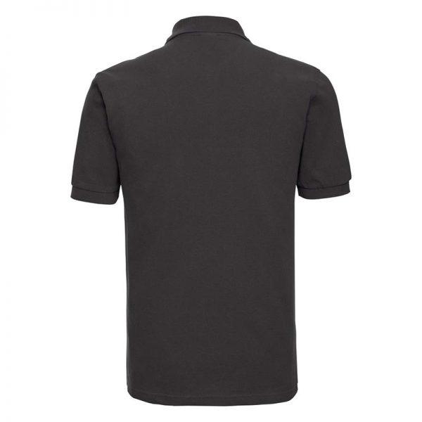 200g 100% Cotton Mens Classic Polo - JPA569-black-back