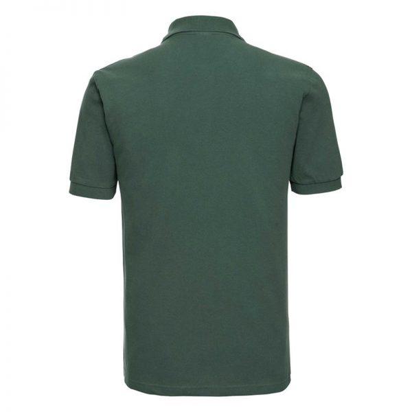 200g 100% Cotton Mens Classic Polo - JPA569-bottle-green-back