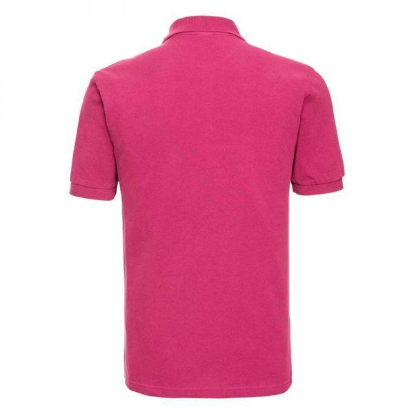 200g 100% Cotton Mens Classic Polo - JPA569-fuchsia-back