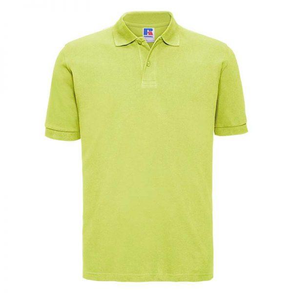 200g 100% Cotton Mens Classic Polo - JPA569-lime