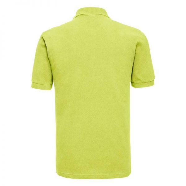 200g 100% Cotton Mens Classic Polo - JPA569-lime-back