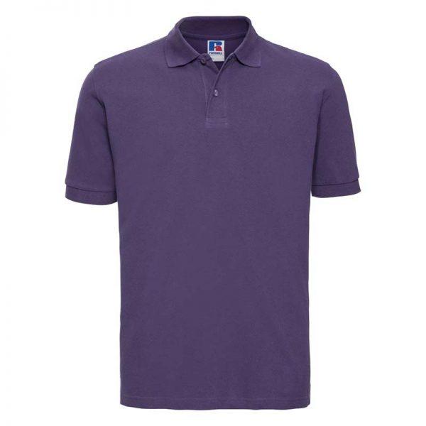 200g 100% Cotton Mens Classic Polo - JPA569-purple