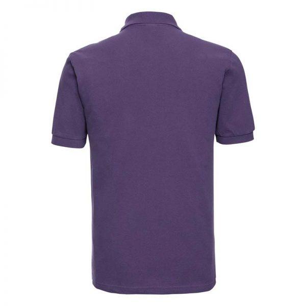 200g 100% Cotton Mens Classic Polo - JPA569-purple-back