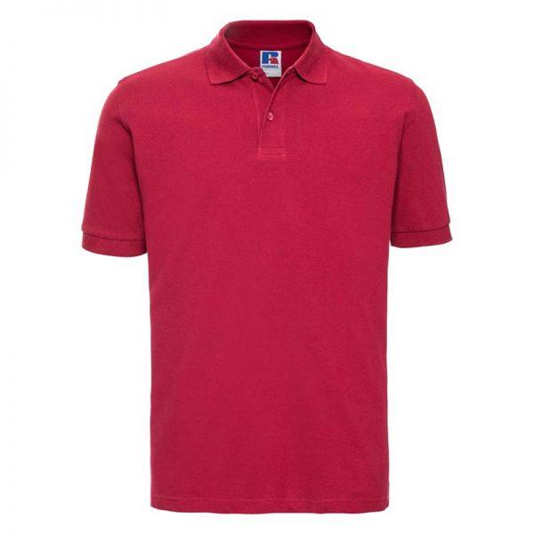 200g 100% Cotton Mens Classic Polo - JPA569-red