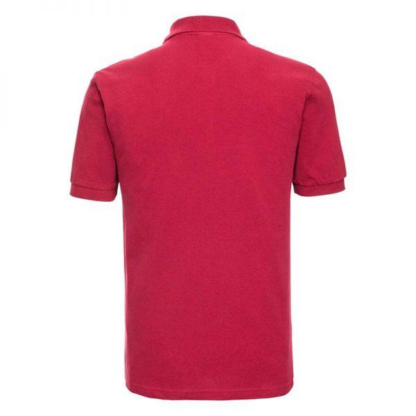 200g 100% Cotton Mens Classic Polo - JPA569-red-back