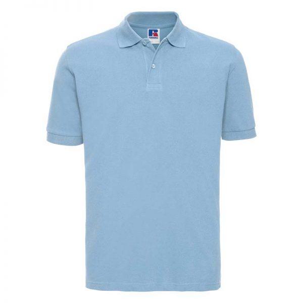 200g 100% Cotton Mens Classic Polo - JPA569-sky