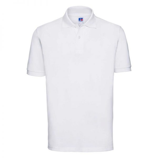 200g 100% Cotton Mens Classic Polo - JPA569-white