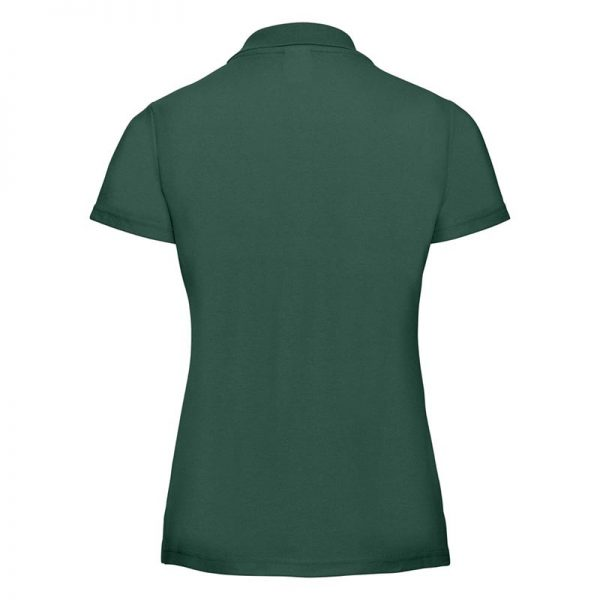 215gsm 65/35 PC Ladies Classic Polo - JPL539-bottle-green-back