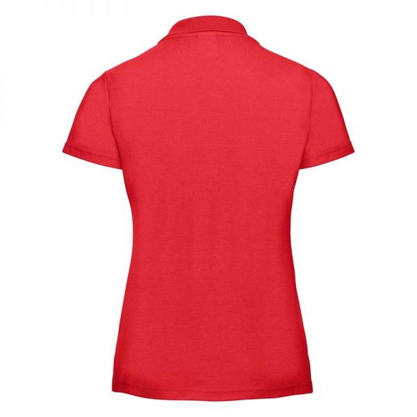 215gsm 65/35 PC Ladies Classic Polo - JPL539-bright-red-back
