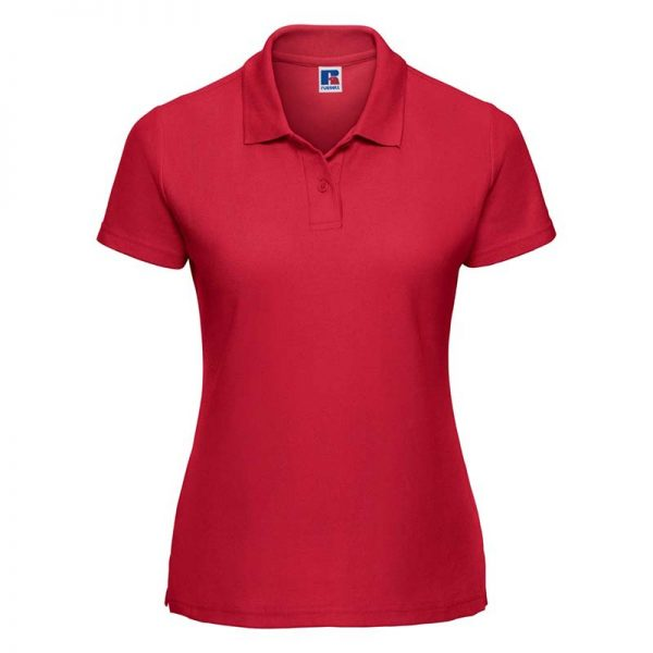 215gsm 65/35 PC Ladies Classic Polo - JPL539-red
