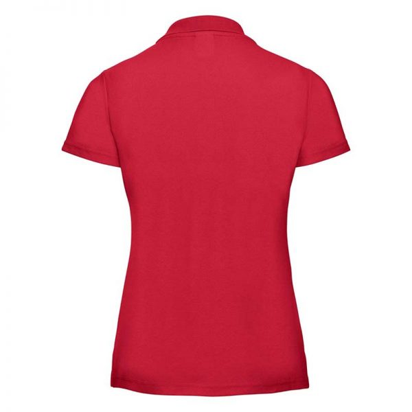 215gsm 65/35 PC Ladies Classic Polo - JPL539-red-back