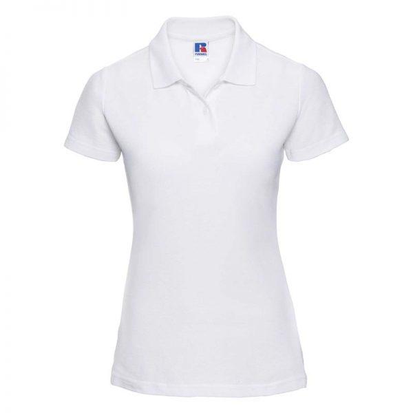 215gsm 65/35 PC Ladies Classic Polo - JPL539-white