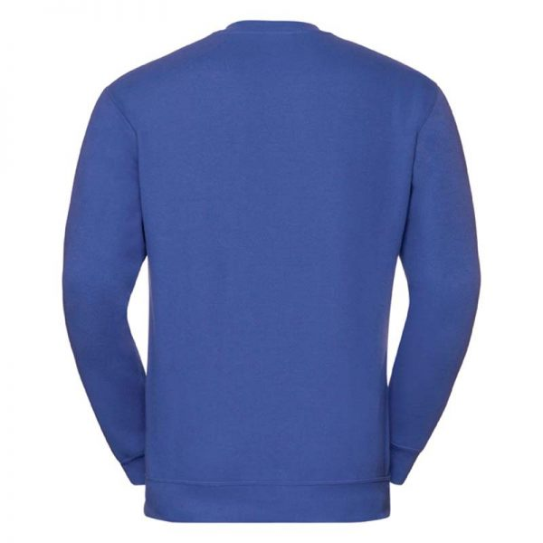 295g 50/50PC Mens V-neck Set-in Sweatshirt - JSA272-bright-royal-back