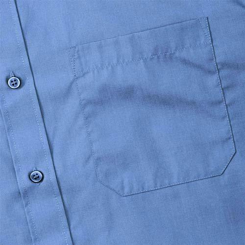 110g 65/35 PC Easy Care Poplin Shirt Long-Sleeve - JSHA934-details1