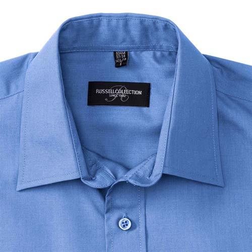 110g 65/35 PC Easy Care Poplin Shirt Long-Sleeve - JSHA934-details3