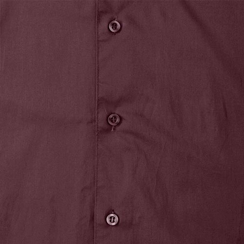 140g Mens Easy-Care Cotton-Stretch Long Sleeve Fitted Shirt - JSHA946-details3