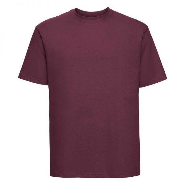 180gsm 100% Ringspun Cotton Classic T-Shirt Short Sleeve - JTA180-burgundy