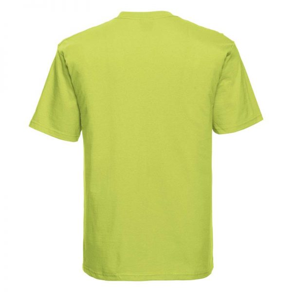 180gsm 100% Ringspun Cotton Classic T-Shirt Short Sleeve - JTA180-lime-back