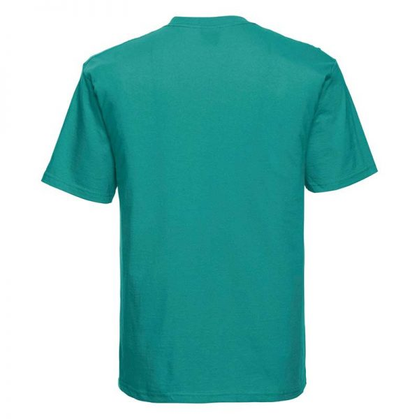 180gsm 100% Ringspun Cotton Classic T-Shirt Short Sleeve - JTA180-winter-emerald-back