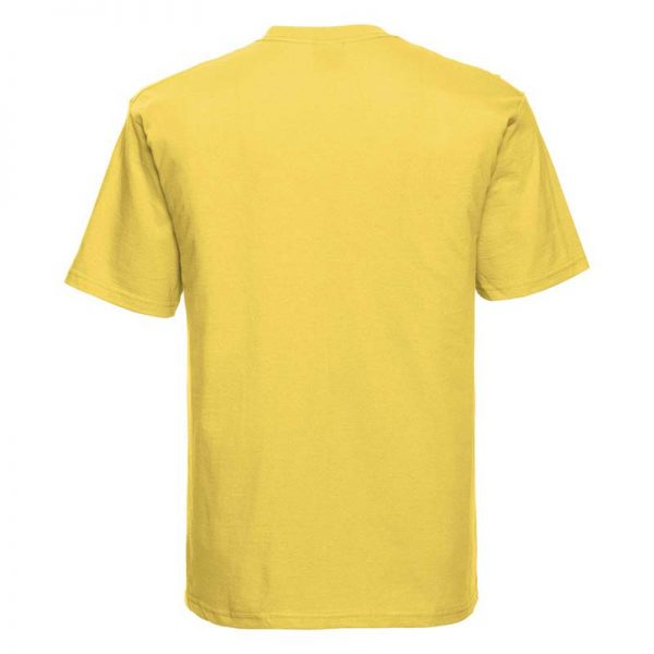 180gsm 100% Ringspun Cotton Classic T-Shirt Short Sleeve - JTA180-yellow-back