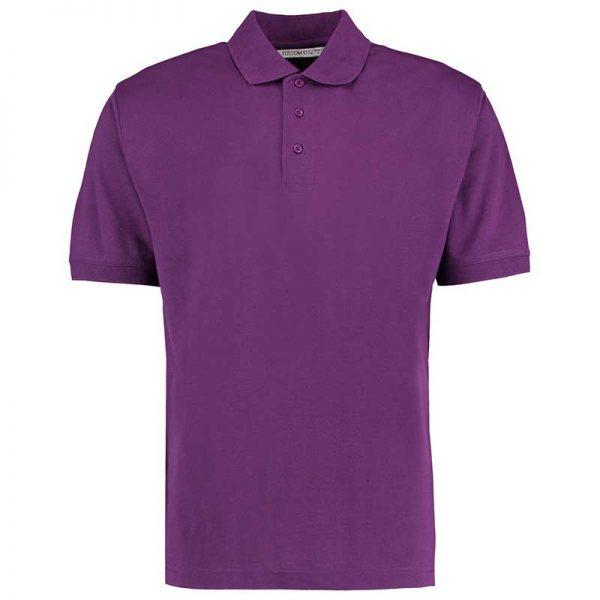 185gsm 65/35PC Mens Regular Klassic Polo - KK403-dark-purple