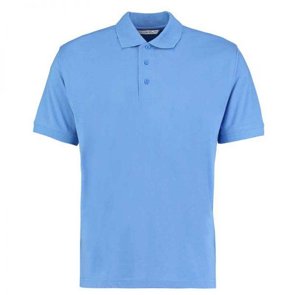 185gsm 65/35PC Mens Regular Klassic Polo - KK403-mid-blue