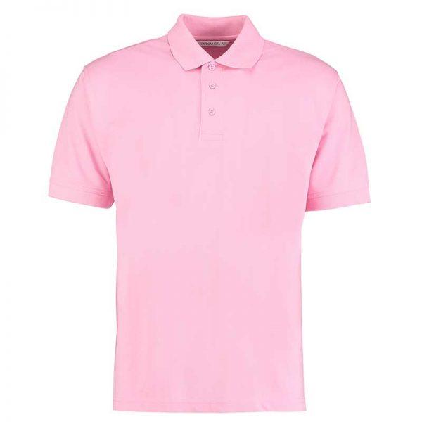 185gsm 65/35PC Mens Regular Klassic Polo - KK403-pink