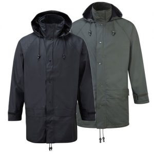 'Flex' Stretch PU Tricot Waterproof Jacket -OJAA220