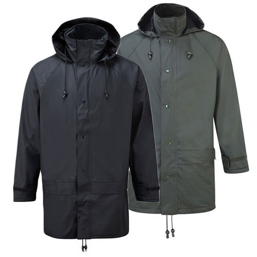 'Flex' Stretch PU Tricot Waterproof Jacket -OJAA220