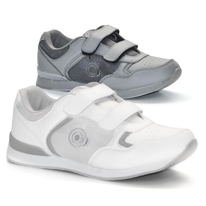 'SKIPPER' Velcro Touch Gastening Trainer-Style Ladies Bowling Shoe-PFOL839