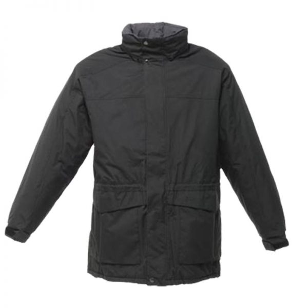 160g 'Darby II' Peached Waterproof Insulated Jacket - RJAA354-black