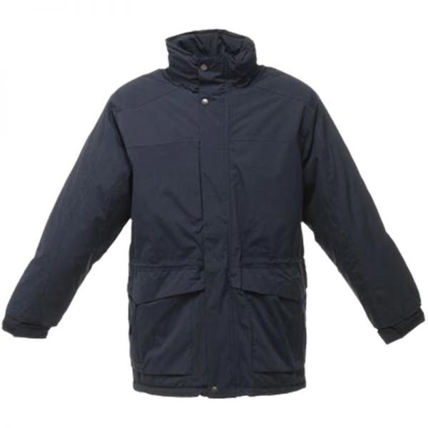 160g 'Darby II' Peached Waterproof Insulated Jacket - RJAA354-navy