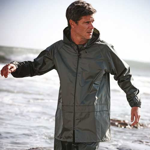 100% Polyester Pro Stormbreak Jacket - RJAA408-model