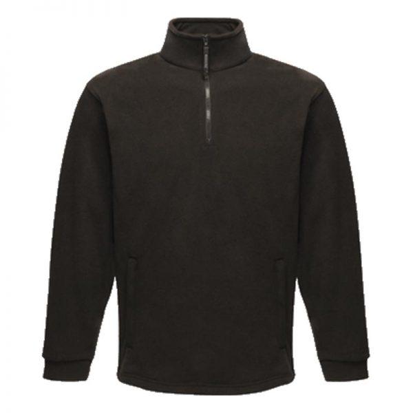 250gsm 100% Polyester Thor Overhead Fleece - RJAA510-black