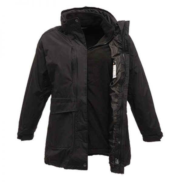 120gsm Ladies Benson II Breathable 3-in-1 Jacket - RJAL123-black