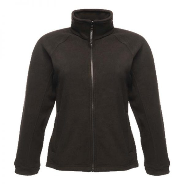 280g 100% Polyester 'Thor III' Ladies Fleece - RJAL541-black
