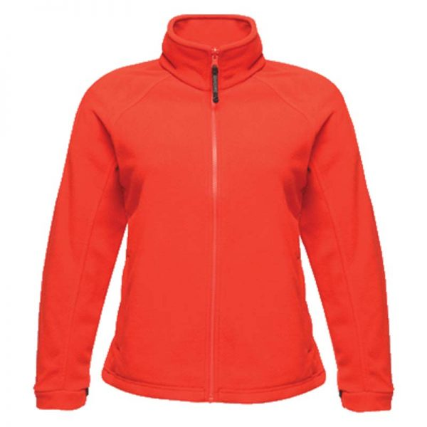 280g 100% Polyester 'Thor III' Ladies Fleece - RJAL541-red